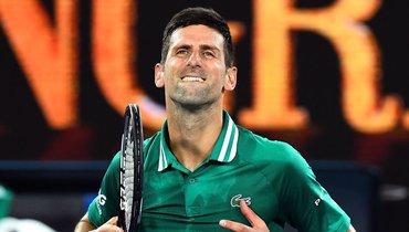 Карацев сыграет сДжоковичем вполуфинале Australian Open