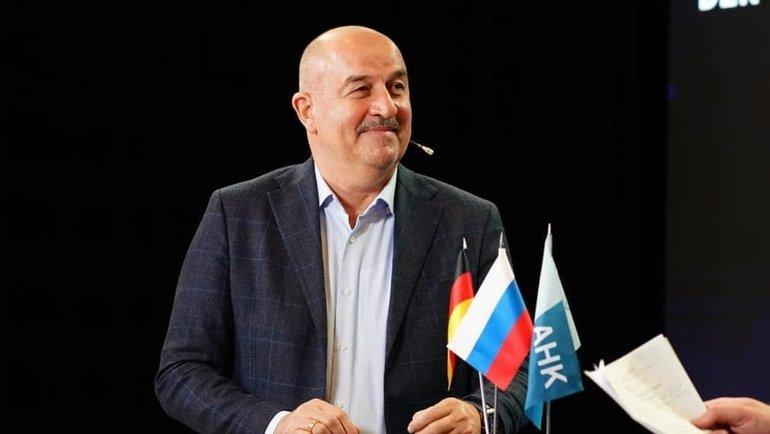 Станислав Черчесов. Фото Сборная России.