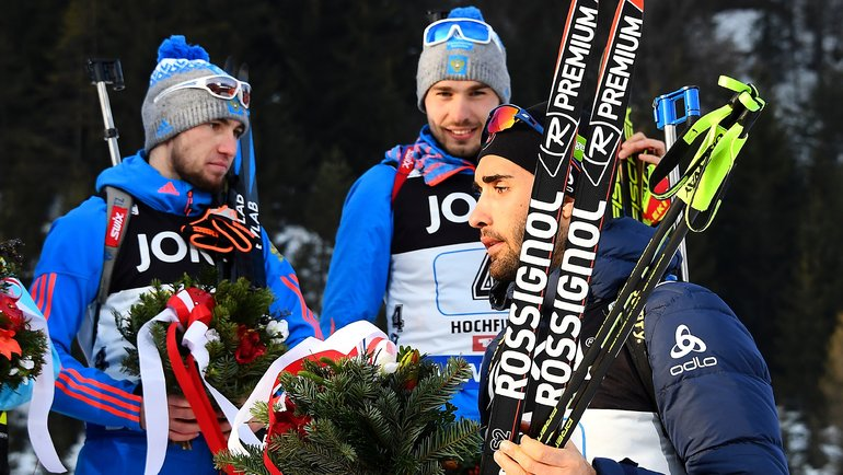 Сложно представить Мартена Фуркада тренером Александра Логинова (слева). Фото AFP