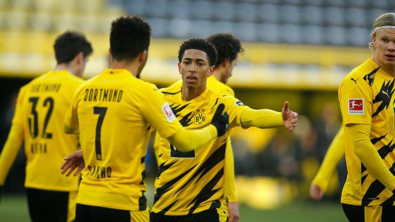 Футболисты дортмундской «Боруссии». Фото Reuters