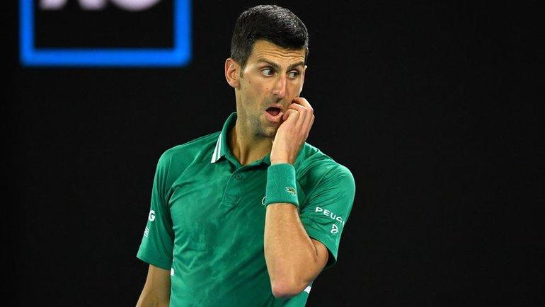 Новак Джокович уже много раз огорчал российских теннисистов. Фото AFP