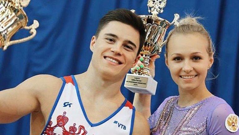 Никита Нагорный иДарья Спиридонова. Фото Instagram
