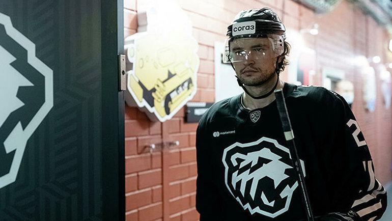 Олег Евенко. Фото ХК «Трактор».
