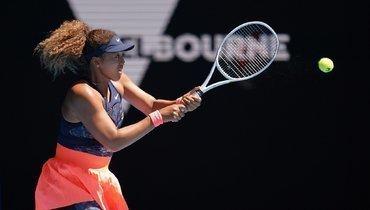 Осака совершила три двойные ошибки врешающем гейме вполуфинале Australian Open