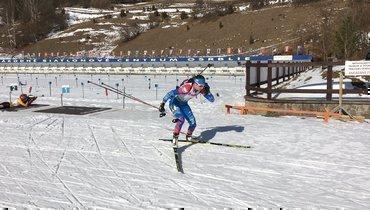 Женская сборная России выиграла эстафету наэтапе Кубка IBU вБрезно-Осрбли