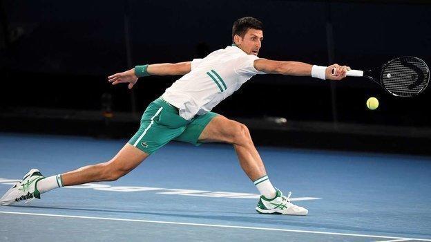 Полуфинал Australian Open. Новак Джокович победил Аслана Карацева. Фото AFP