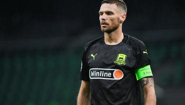 «Краснодар»— «Динамо» Загреб: Берг сравнял счет вматче красивым ударом
