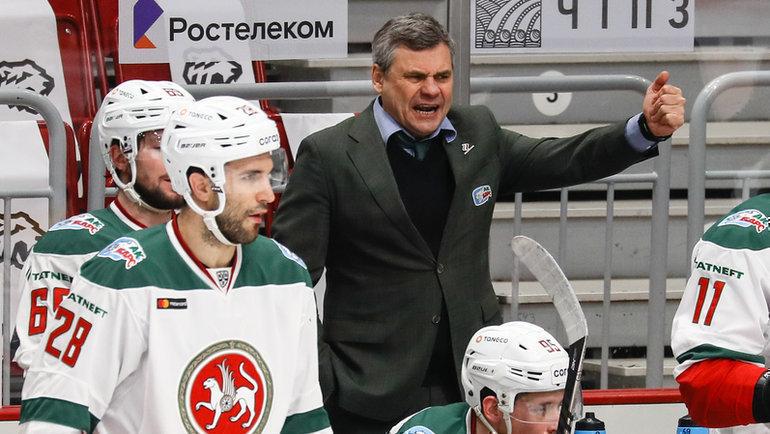 Дмитрий Квартальнов. Фото photo.khl.ru