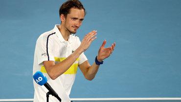 Чакветадзе считает заслуженной победу Медведева вполуфинале Australian Open