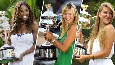Шампанское, пляж, секьюрити икрасотки вМельбурне. Самые яркие чемпионки Australian Open