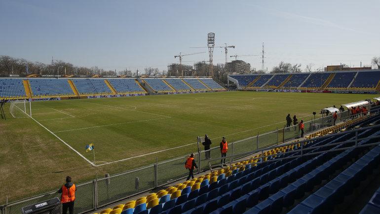 Стадион «Олимп-2». Фото Reuters