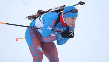 Россия завоевала бронзу вмужской эстафете наЧМ побиатлону