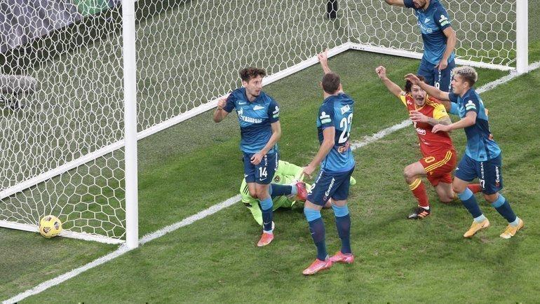 «Зенит» уступил «Арсеналу». Фото ФК «Зенит»