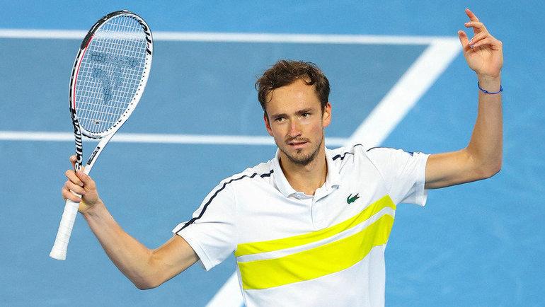 21февраля. Мельбурн. Даниил Медведев проиграл Новаку Джоковичу вфинале Открытого чемпионата Австралии. Фото AFP