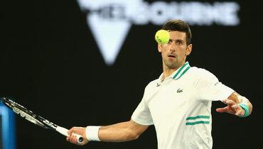 Джокович прокомментировал победу над Медведевым вфинале Australian Open