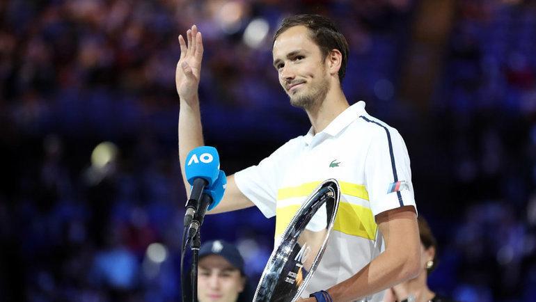 21февраля. Мельбурн. Даниил Медведев. Фото Reuters
