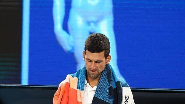 Новак Джокович илегкая эротика. Фото AFP