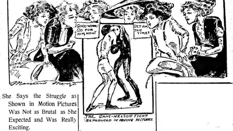 Скетч про бой Ганса сНельсоном.
