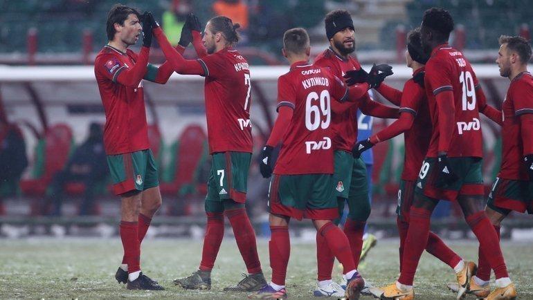 21февраля. Москва. «Локомотив»— «Тамбов»— 3:0. Фото ФК «Локомотив».
