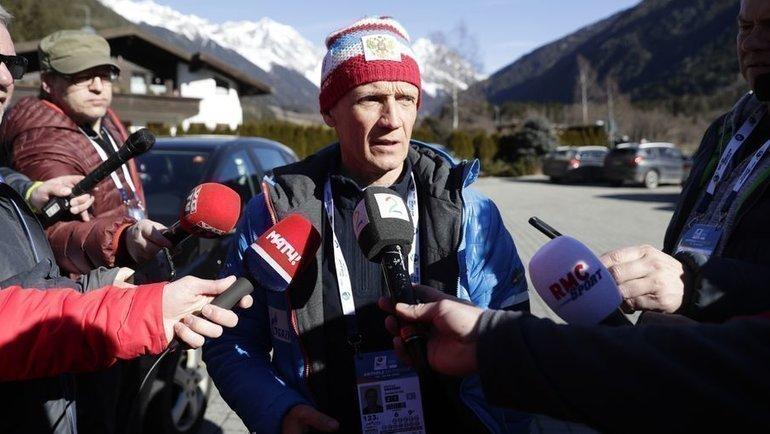 Владимир Драчев. Фото AFP