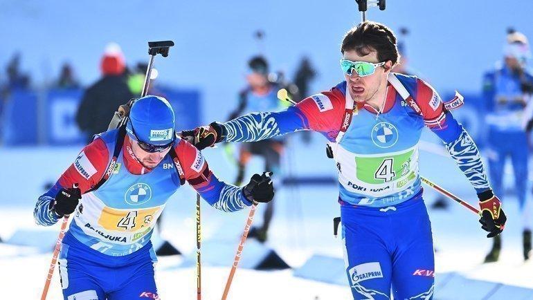 Александр Логинов иМатвей Елисеев. Фото AFP