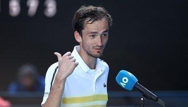 Виландер прокомментировал поражение Медведева вфинале Australian Open