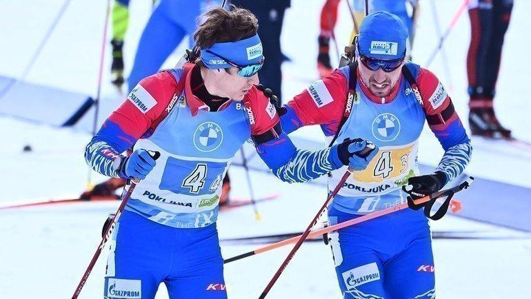 Эдуард Латыпов иАлександр Логинов. Фото AFP