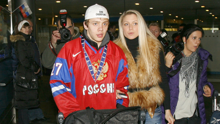 Январь 2011 года. Артемий Панарин вернулся вРоссию после победы намолодежном чемпионате мира.