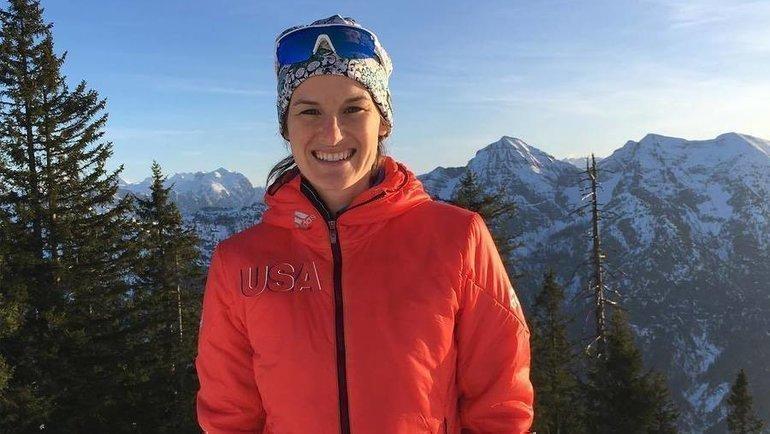 Американская биатлонистка Клэр Иган. Фото Instagram