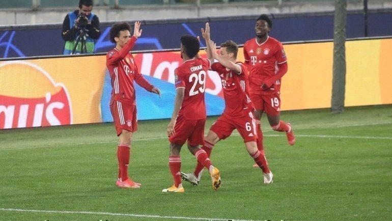 «Бавария» обыграла «Лацио». Фото ФК «Бавария».