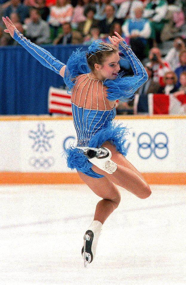 Костюм Катарины Витт ккороткой программе наОлимпийских играх-1988. Фото AFP