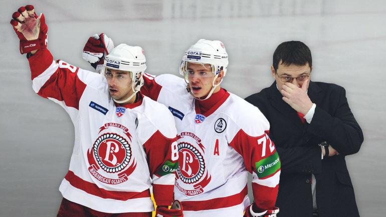 2011 год. Михаил Анисин, Артемий Панарин иАндрей Назаров.