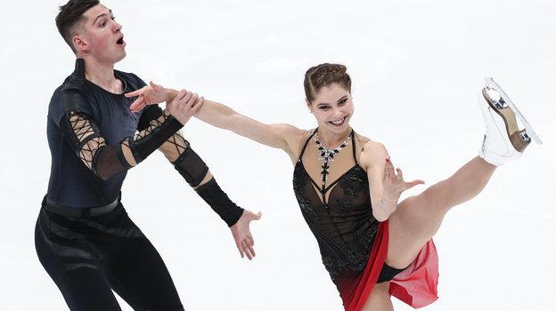 Анастасия Мишина и Александр Галлямов. Фото Дарья Исаева, «СЭ» / Canon EOS-1D X Mark II