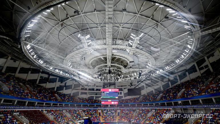 Дворец спорта «Мегаспорт». Фото Дарья Исаева, «СЭ» / Canon EOS-1D X Mark II