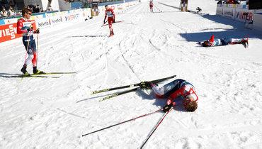 Клебо выиграл золото вспринте.