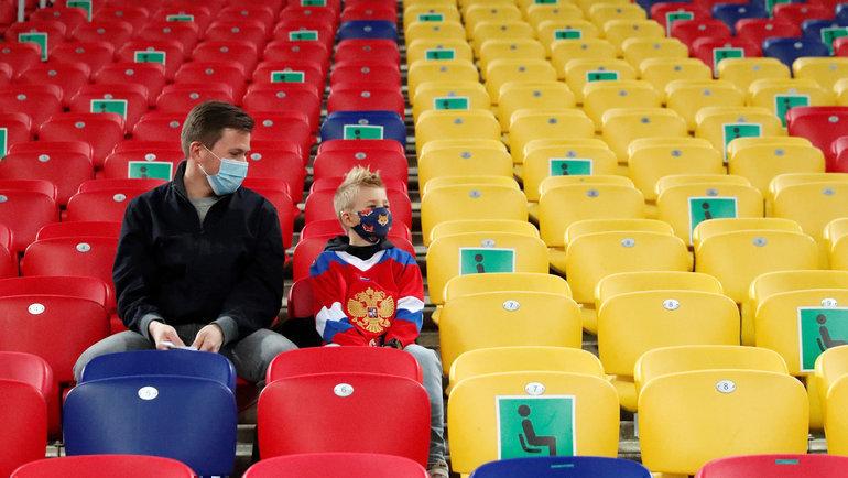 Вохможно, что российские болельщики смогут посетить матчи только вСанкт-Петербурге. Фото Reuters