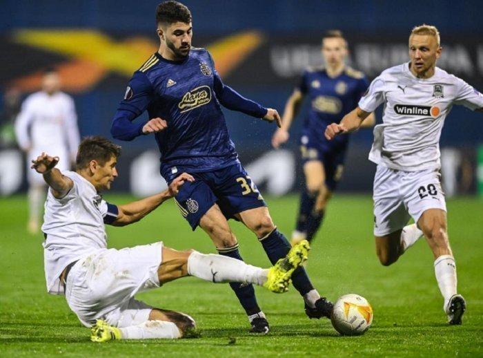 «Динамо» Загреб— «Краснодар»— 1:0. Фото УЕФА
