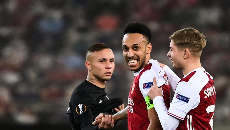 25февраля. Пирей. «Арсенал» (Англия)— «Бенфика» (Португалия)— 3:2 (1:1). Фото Reuters