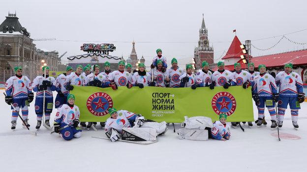 Хоккей наКрасной площади.
