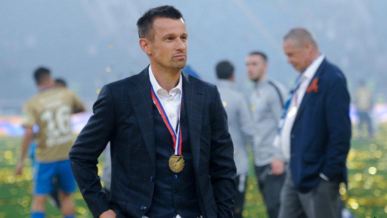 Сергей Семак. Фото Дарья Исаева, «СЭ»