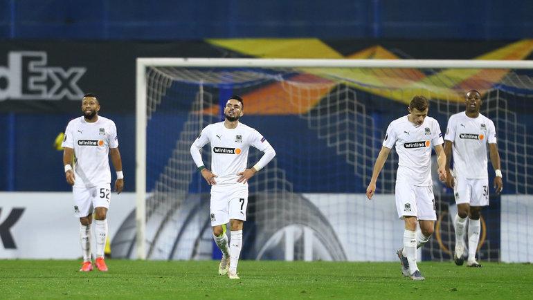 25февраля. Загреб. «Динамо З»— «Краснодар»— 1:0. Фото Reuters