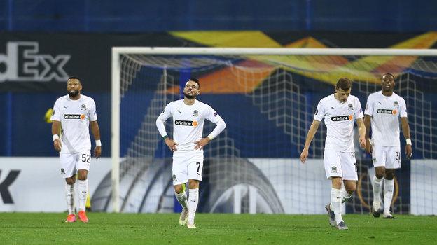 25 февраля. Загреб. «Динамо З» — «Краснодар» — 1:0. Фото Reuters
