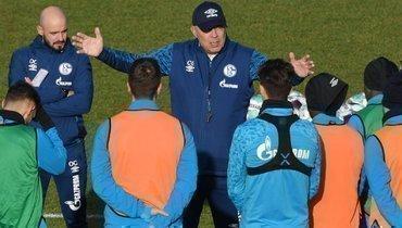 Игроки «Шальке» просят уволить Гросса споста главного тренера