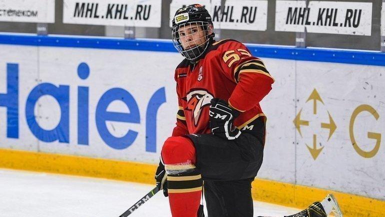 Иван Мирошниченко. Фото ХК «Омские Ястребы»