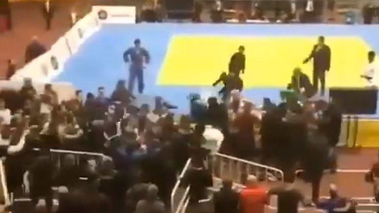 Массовая драка натурнире вКаспийске.