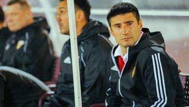 Главному тренеру «Алании» грозит дисквалификация надва года. Что натворил Гогниев?