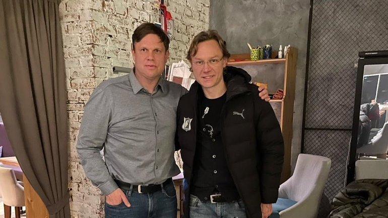 Владислав Радимов и Валерий Карпин. Фото Instagram