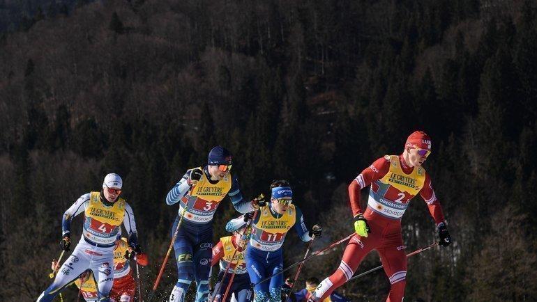 Александр Большунов. Фото Федерация лыжных гонок России