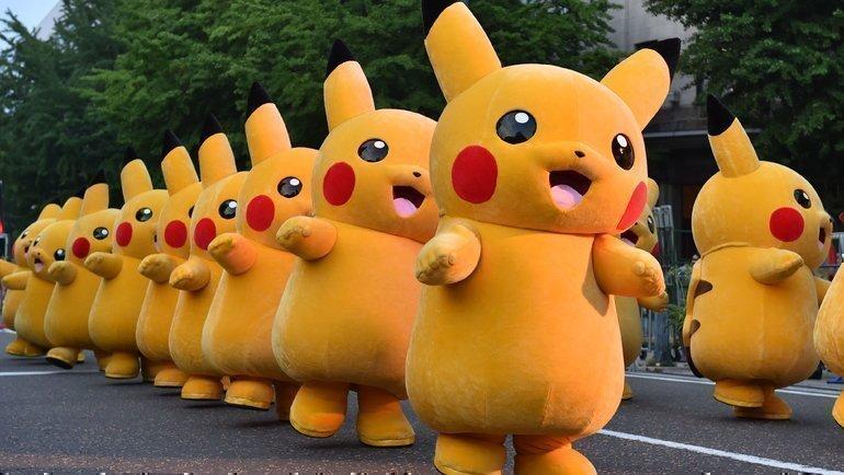 Пикачу— самый известный покемон вмире. Фото AFP