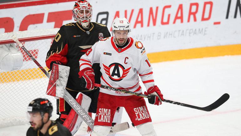 Впервом раунде плей-офф КХЛ «Авангард» сыграет против «Автомобилиста». Фото ХК «Авангард»